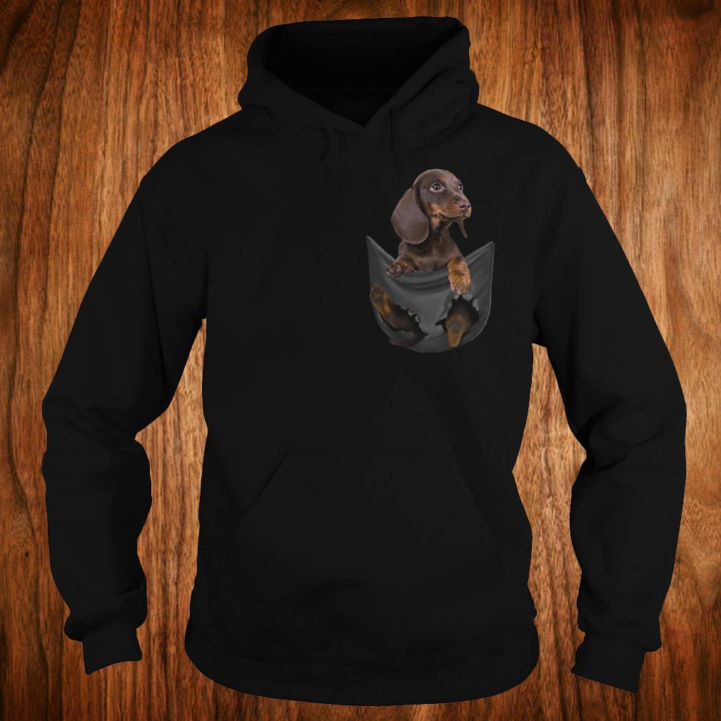 Official Dachshund Tiny Pocket shirt Hoodie