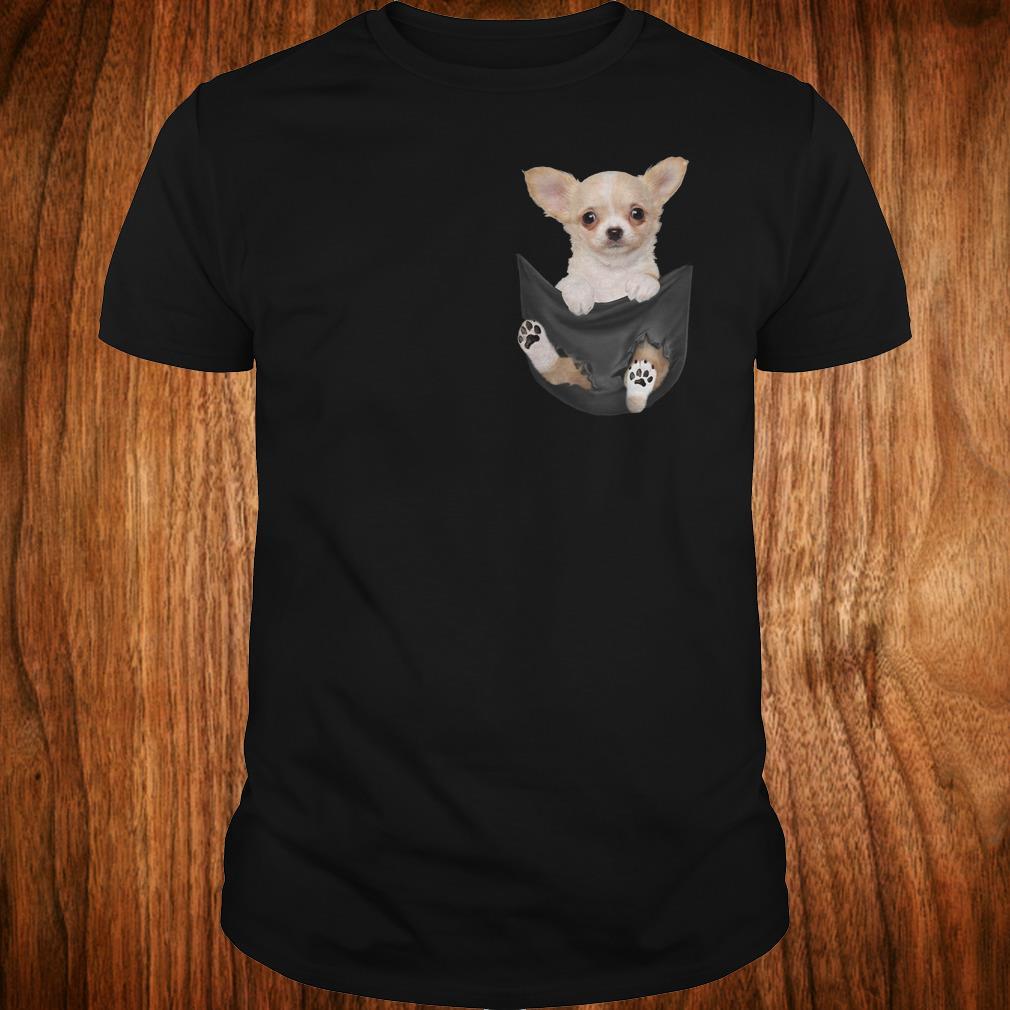 Original Chihuahua Tiny pocket shirt Classic Guys / Unisex Tee