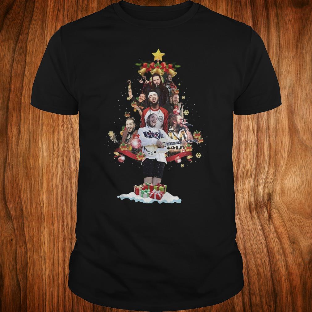 Premium Malone Christmas tree sweatshirt Classic Guys / Unisex Tee