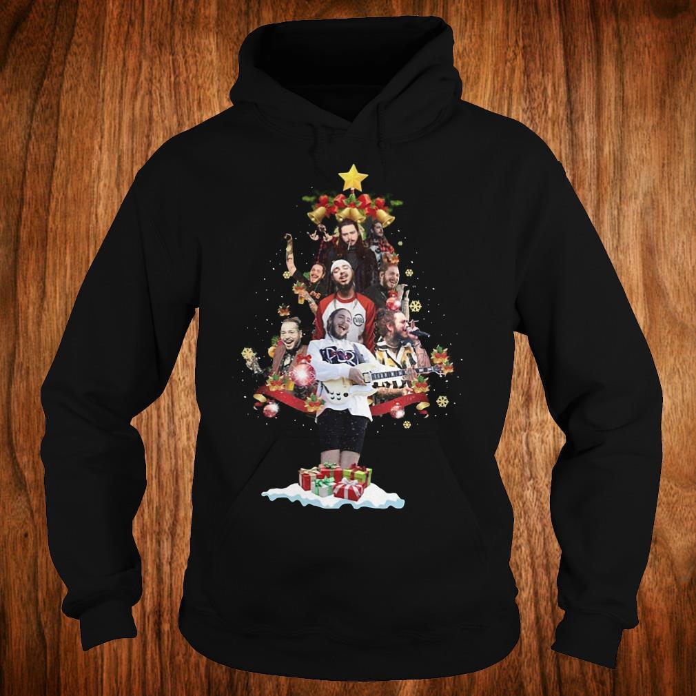 Premium Malone Christmas tree sweatshirt Hoodie