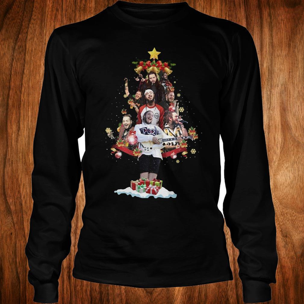Premium Malone Christmas tree sweatshirt Longsleeve Tee Unisex