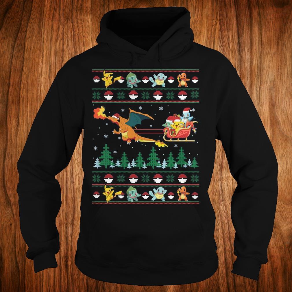The best Christmas Pokemon Sweater shirt Hoodie