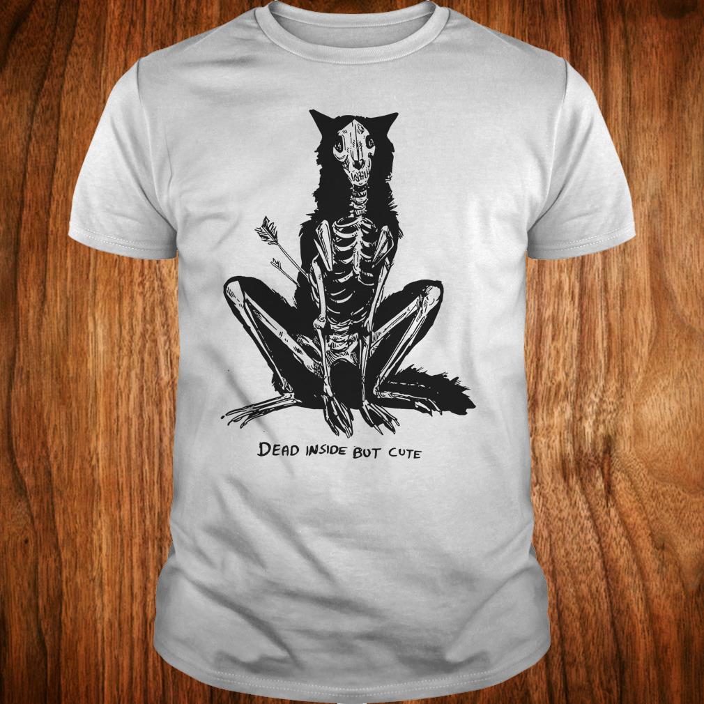 The best Dead inside but cute shirt Classic Guys / Unisex Tee