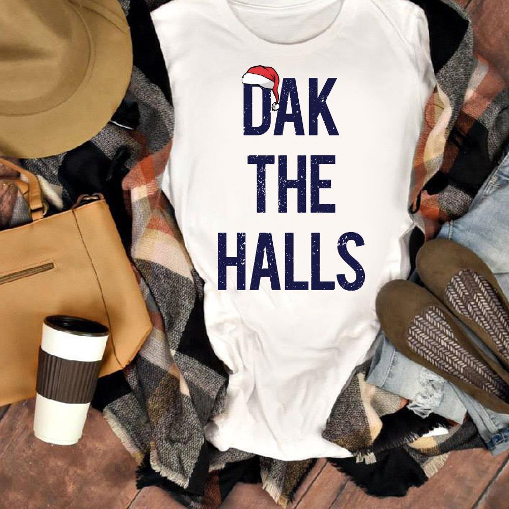 Chrismat Dak The Halls Santa Hat Shirt 1 1.jpg