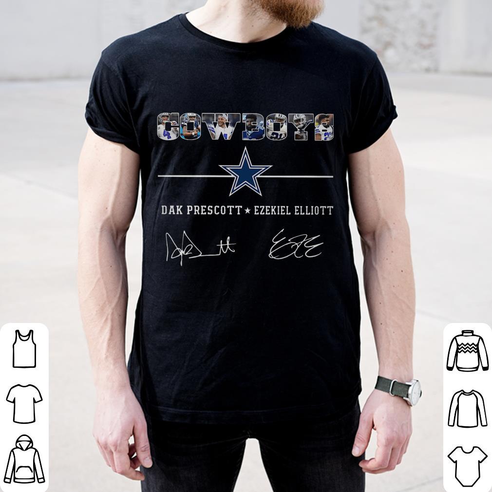 Cowboys Dak Prescott Ezekiel Elliott Signature Shirt 2 1.jpg