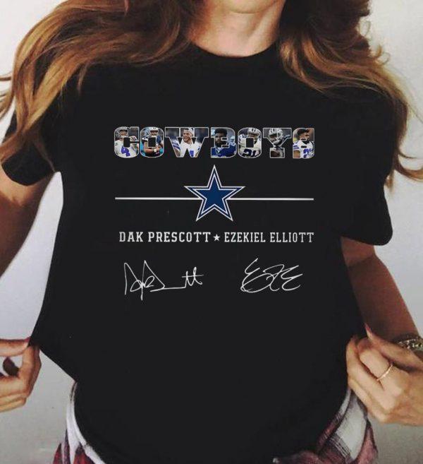 Cowboys Dak Prescott Ezekiel Elliott Signature Shirt 3 1.jpg