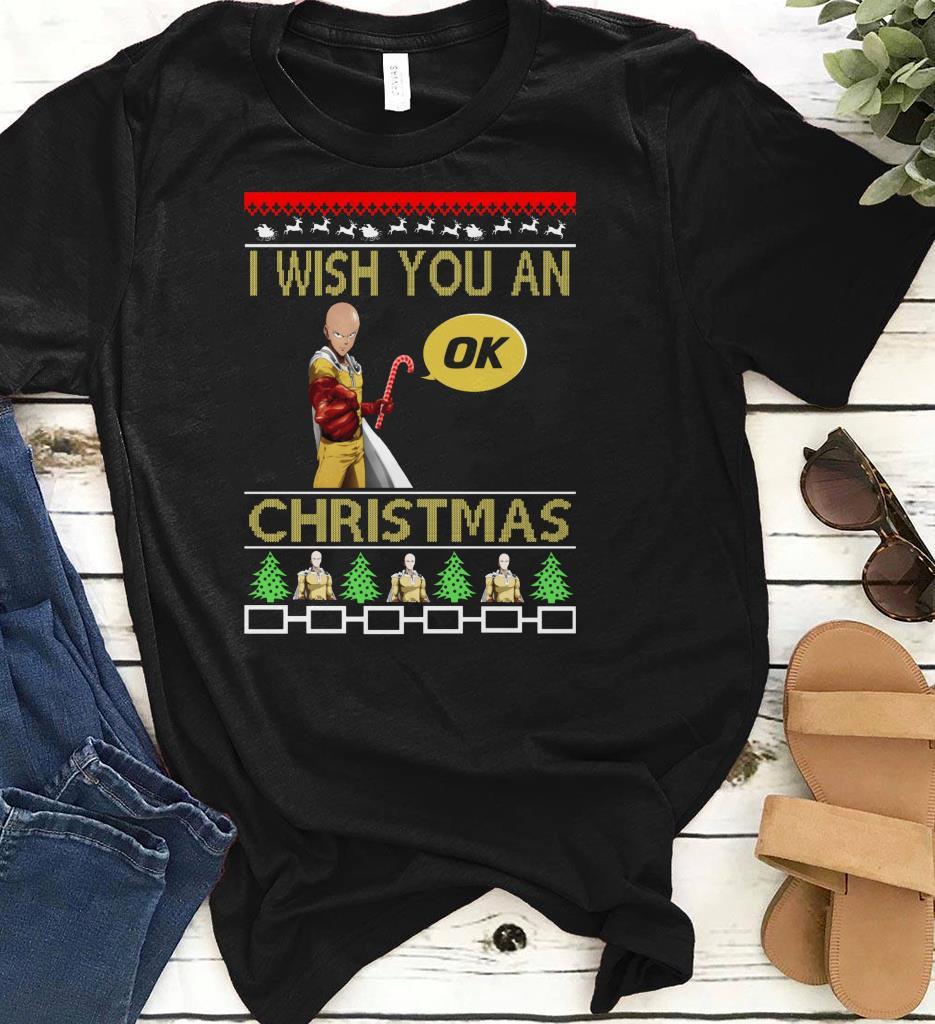 Saitama I Wish You An Ok Christmas Shirt 1 1.jpg
