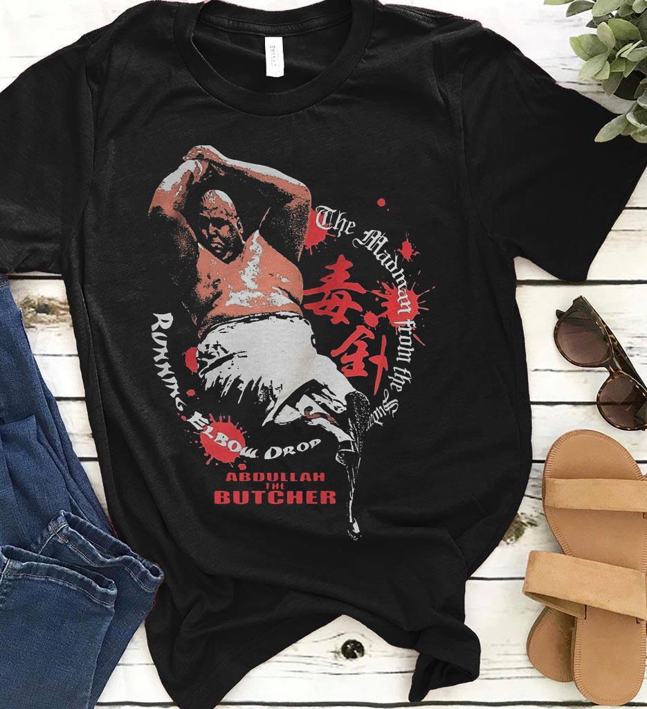 Abdullah The Butcher Running Elbow Drop Shirt 1 1.jpg