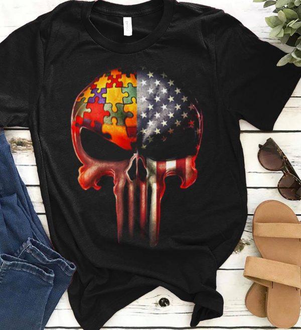 America Flag Skull Autism Awareness Shirt 1 1.jpg