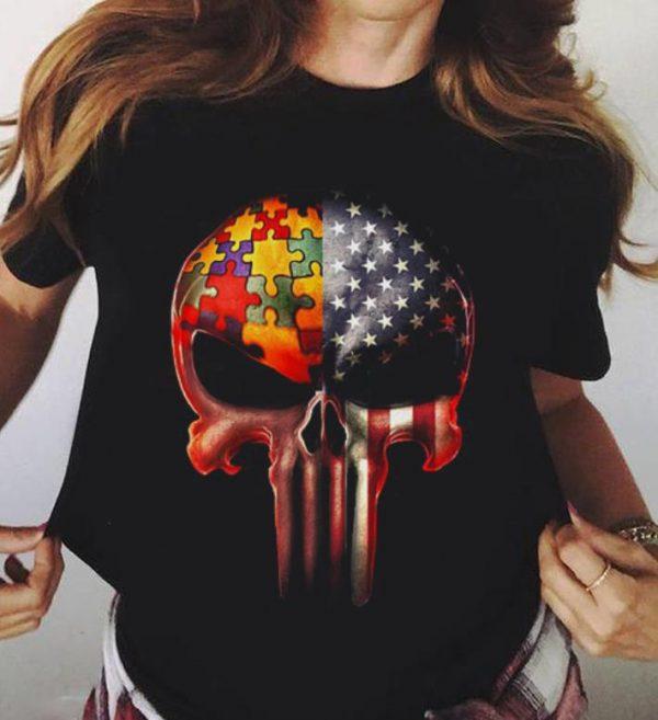 America Flag Skull Autism Awareness Shirt 3 1.jpg