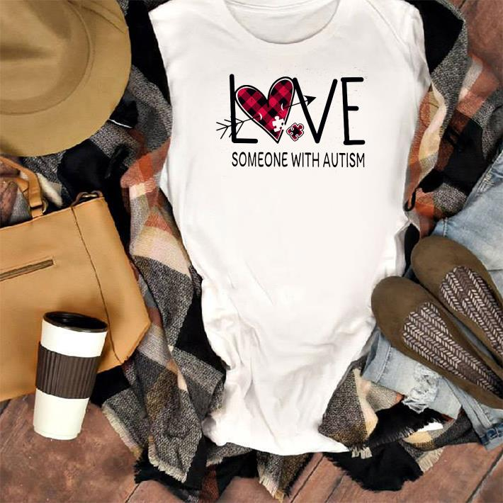 Checquered Heart Love Someone With Autism Shirt 1 1.jpg