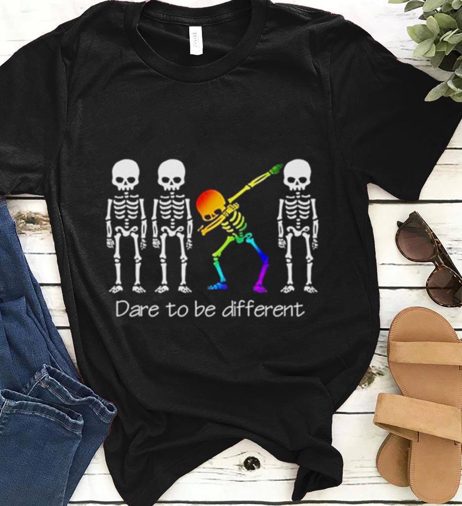 Dare To Be Different Dabbing Skeleton Shirt 1 1.jpg