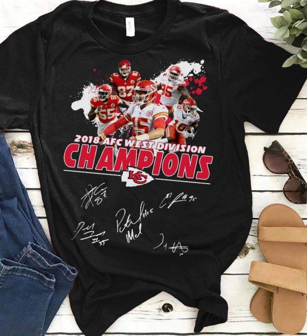 West Division Champions Signature Kansas City Chiefs 2018 Afc Shirt 1 1.jpg