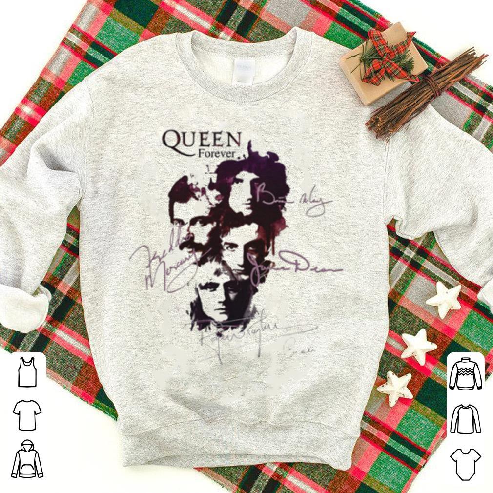 Queen Queen Band Queen Forever All Signatures Freddie Mercury Shirt 1 1.jpg