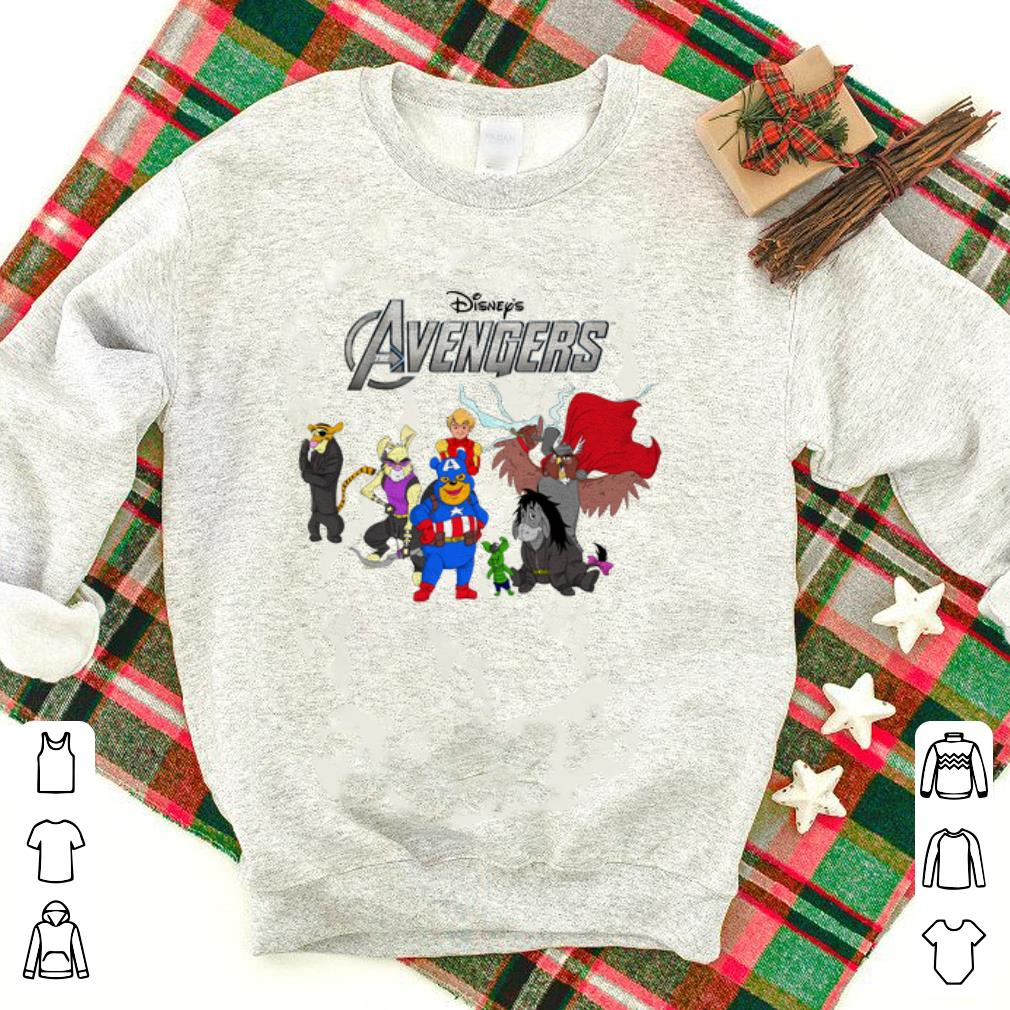 Disney Winnie The Pooh Marvel Avengers Endgame Shirt 1 1.jpg