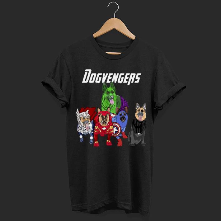Dogvengers Frenchie Avengers Endgame German shepherd shirt