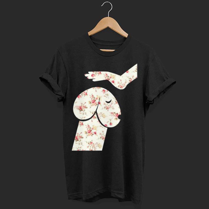 Flowers Hand Touch Head Dachshund Shirt 1 1.jpg