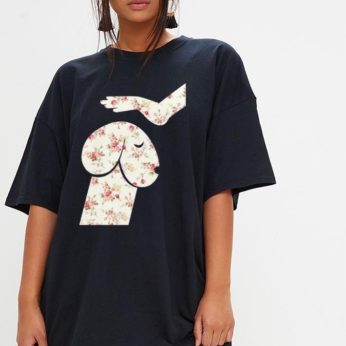 Flowers Hand Touch Head Dachshund Shirt 3 1.jpg
