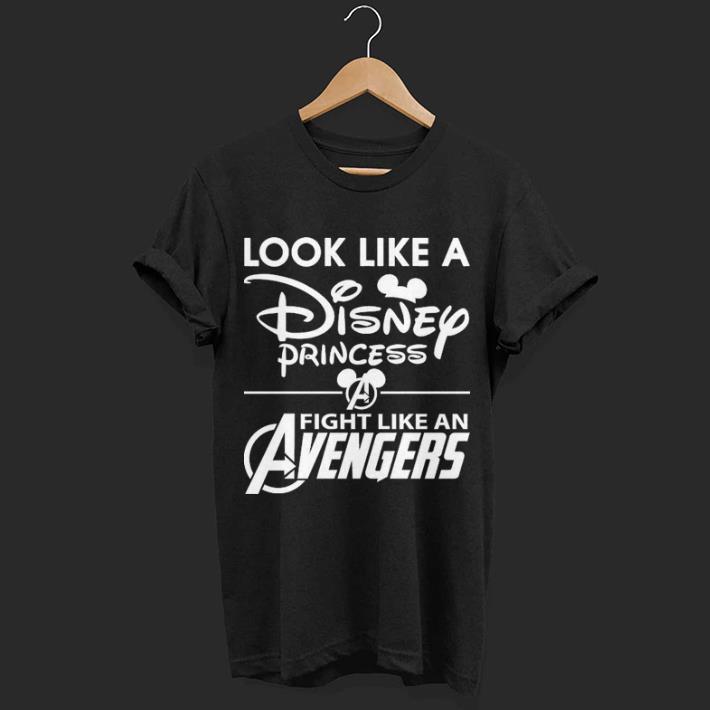 Look Like A Disney Princess Fight Like An Avengers Shirt 1 1.jpg