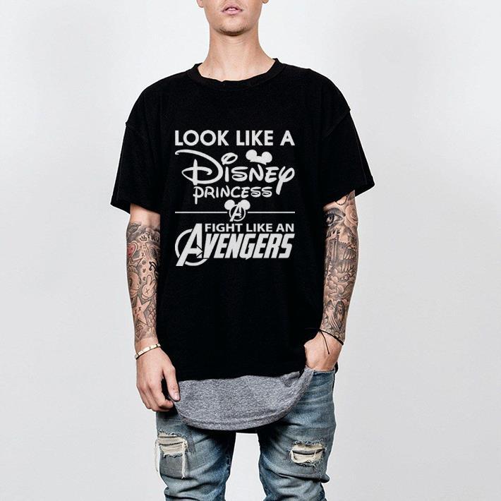 Look Like A Disney Princess Fight Like An Avengers Shirt 2 1.jpg
