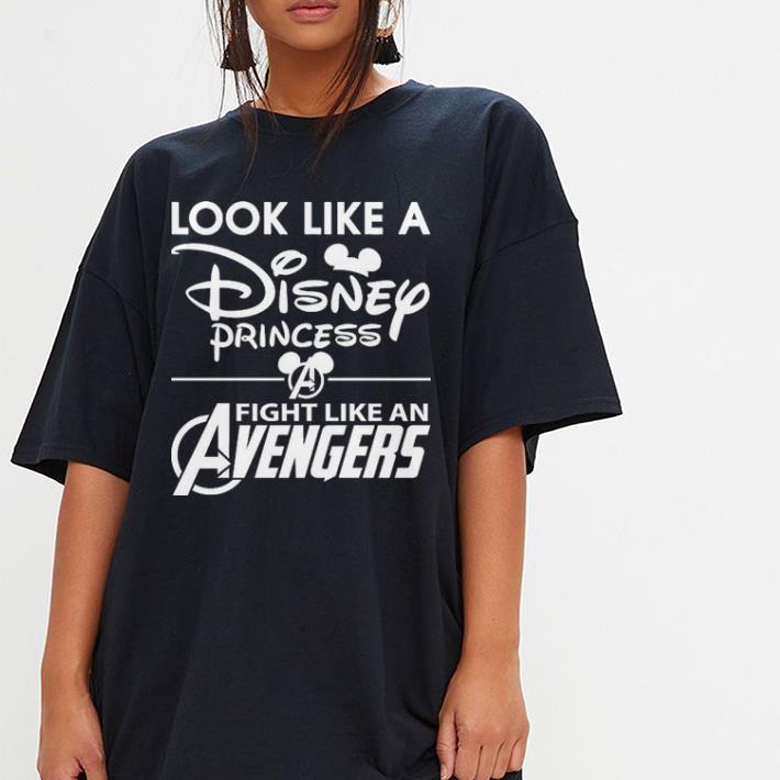 Look Like A Disney Princess Fight Like An Avengers Shirt 3 1.jpg