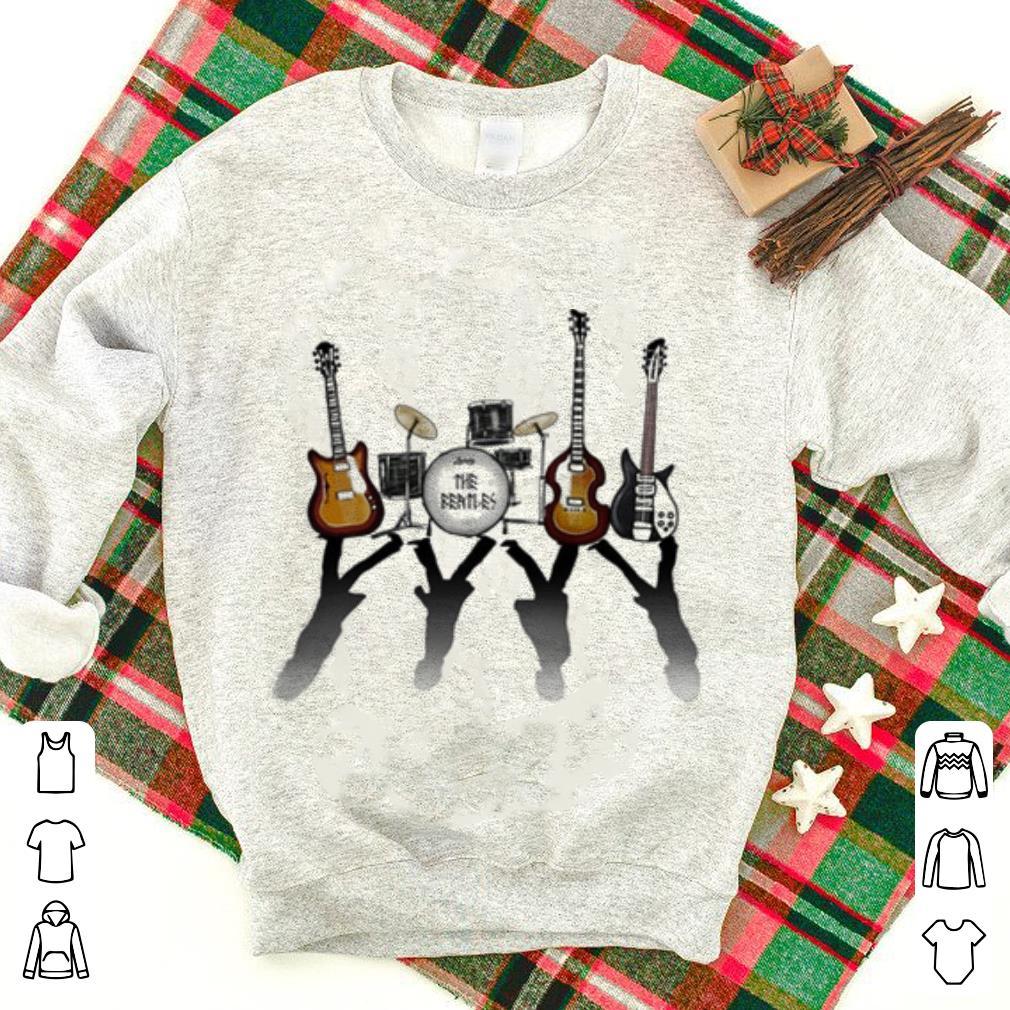 The Beatles guitars drum kits shirt