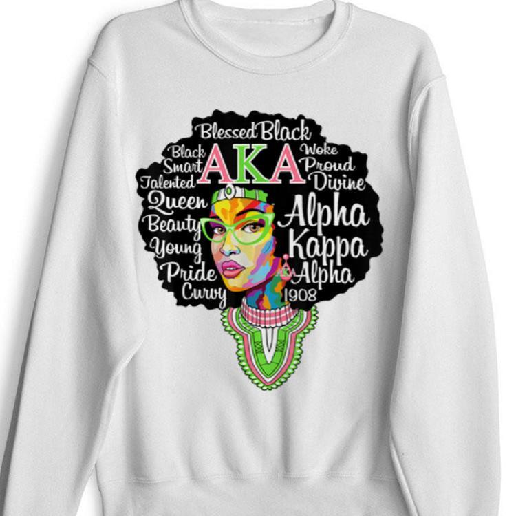 AKA Sorority Alpha Pretty Girl Kappa Shirt