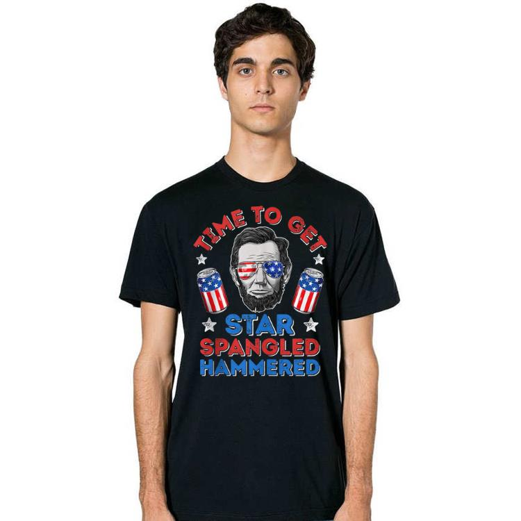 American Time To Get Star Spangled Hammered Abraham Lincoln Shirt 2 1.jpg