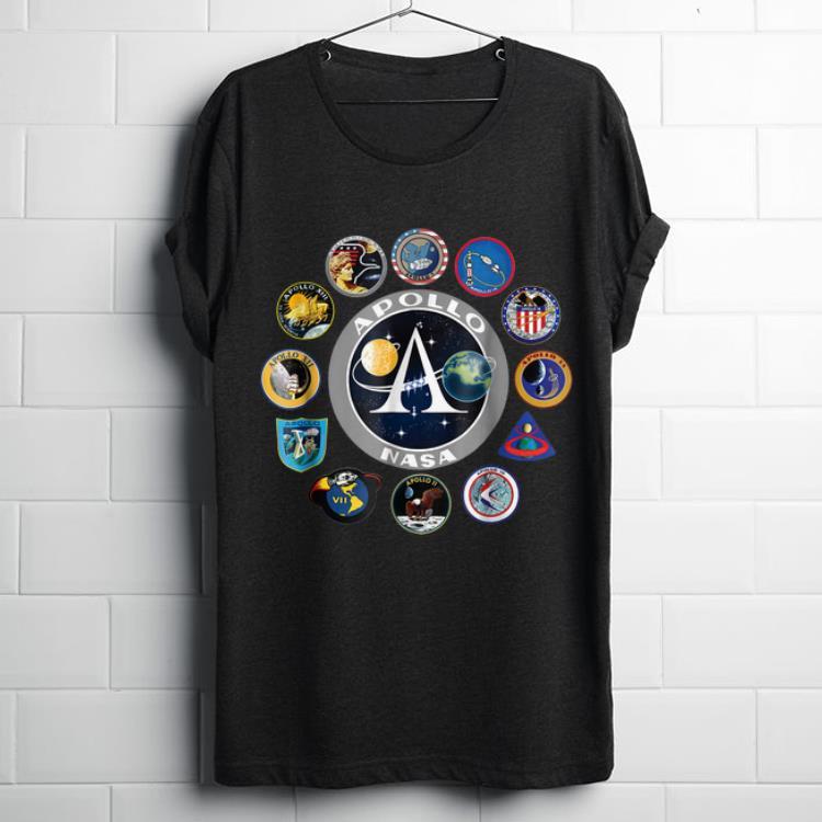 Apollo Missions Patch Badge NASA shirt