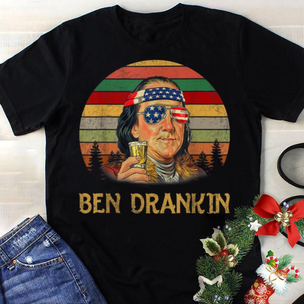 Awesome Ben Drankin Sunset Paiting Shirt 1 1.jpg
