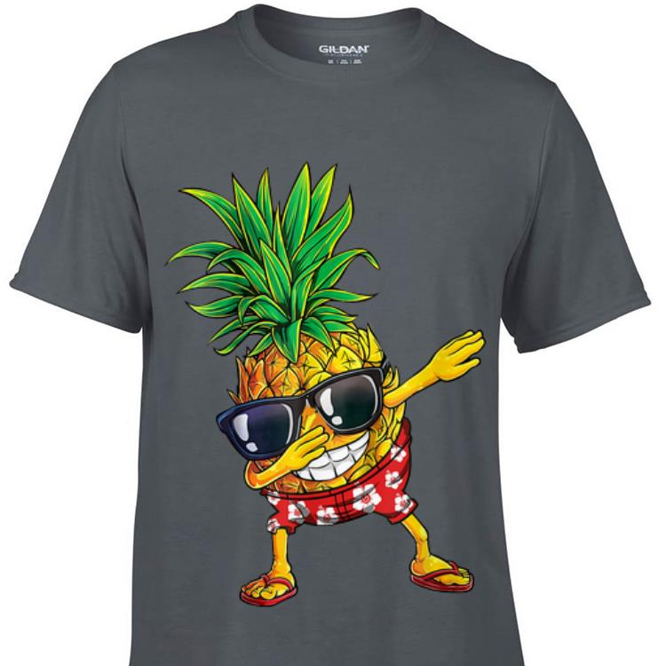 Awesome Dabbing Pineapple Sunglasses Aloha Beaches Hawaii shirt