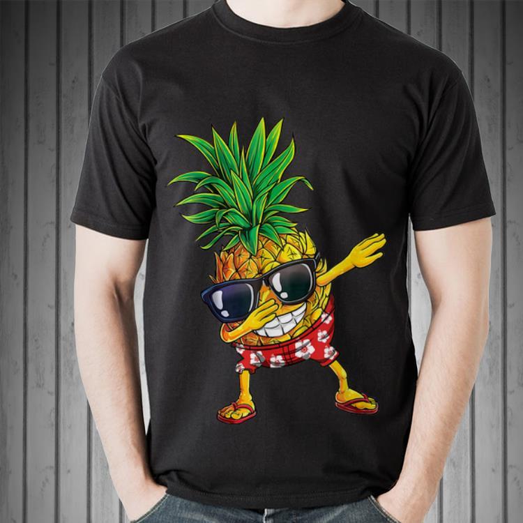 Awesome Dabbing Pineapple Sunglasses Aloha Beaches Hawaii Shirt 2 1.jpg