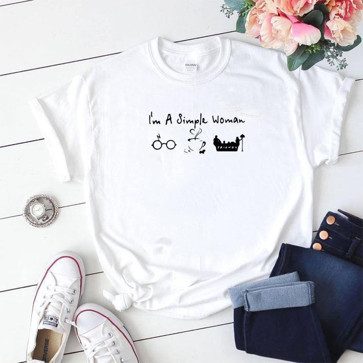 Awesome I M A Simple Woman I Like Harry Potter Disney And Friends Shirt 1 1.jpg