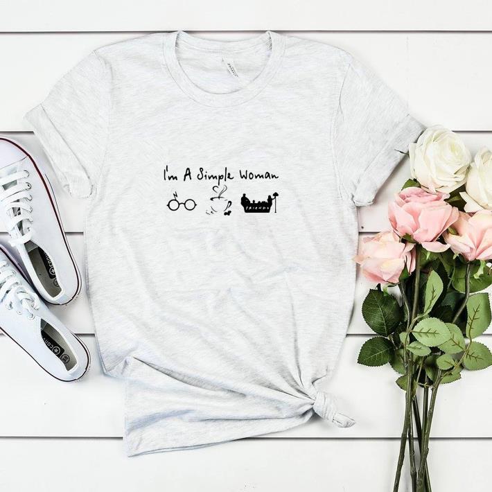 Awesome I M A Simple Woman I Like Harry Potter Disney And Friends Shirt 2 1.jpg