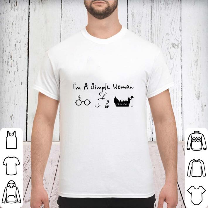 Awesome I M A Simple Woman I Like Harry Potter Disney And Friends Shirt 3 1.jpg