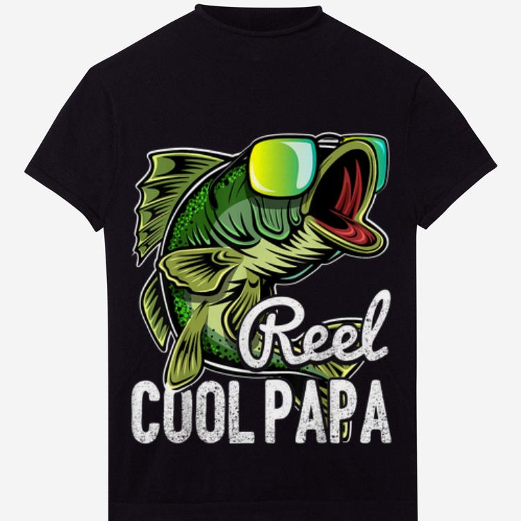 Awesome Mens Reel Cool Papa Fishing Sunglasses Father S Day Shirt 1 1.jpg
