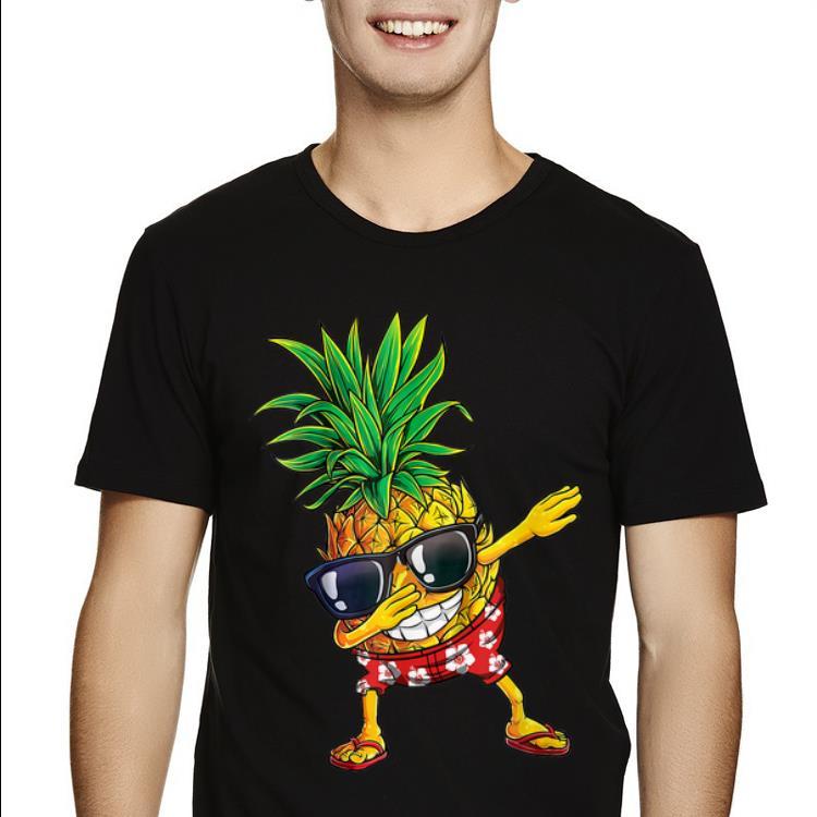 Dabbing Pineapple Sunglasses Aloha Beaches Hawaii Shirt 2 1.jpg