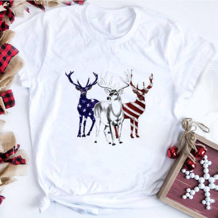 Funny Deer Red White And Blue American Flag Shirt 1 1.jpg