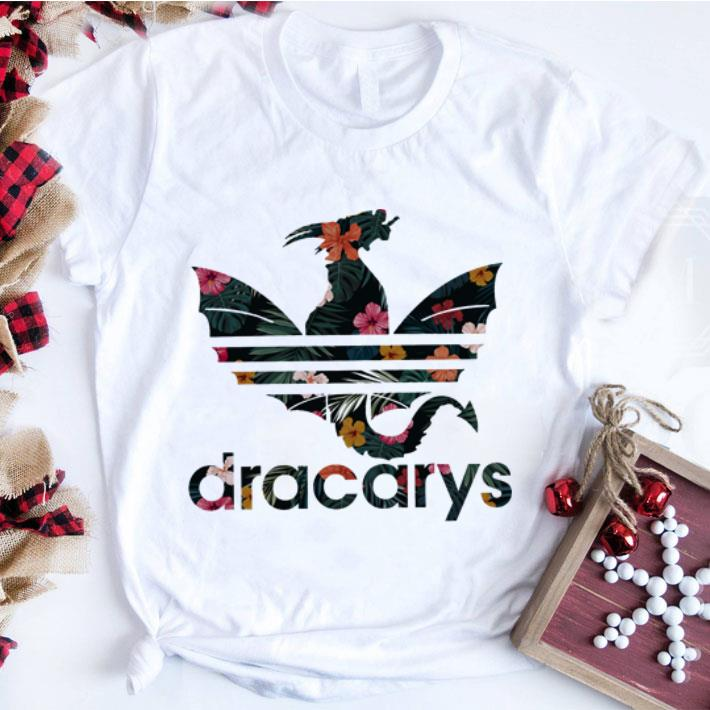 Funny Dracarys Adidas Game Of Thrones Floral Shirt 1 1.jpg