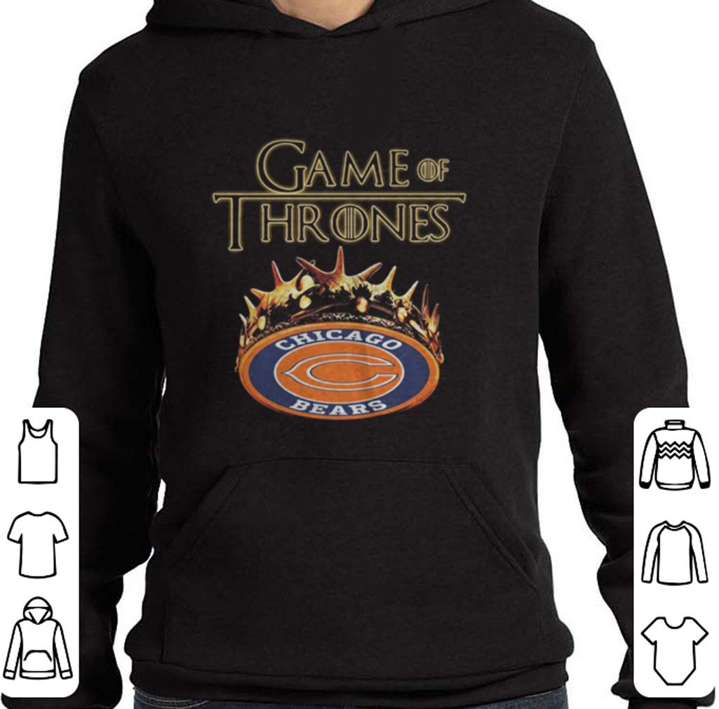 1b326f9c Hot Game Of Thrones Crown Chicago Bears shirt
