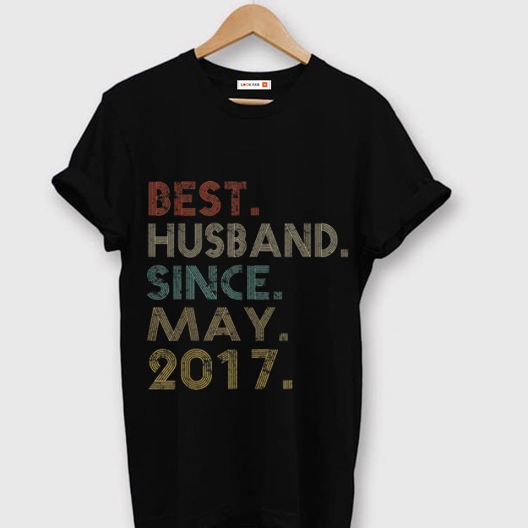 Hot Wedding Anniversary Husband Since May 2017 Shirt 1 2 1.jpg