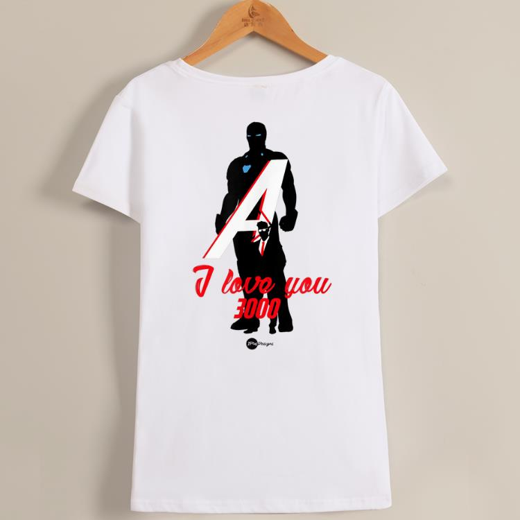 Love You 3000 Avenger Iron Dad End Game Shirt 1 1.jpg