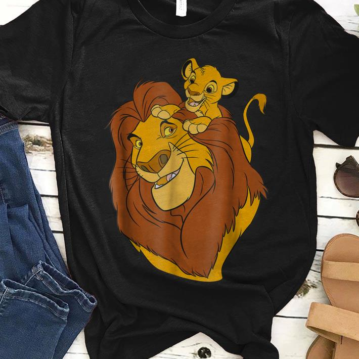 d8dae026 Nice Disney The Lion King Simba and Mufasa Father and Son Dad day Shirt