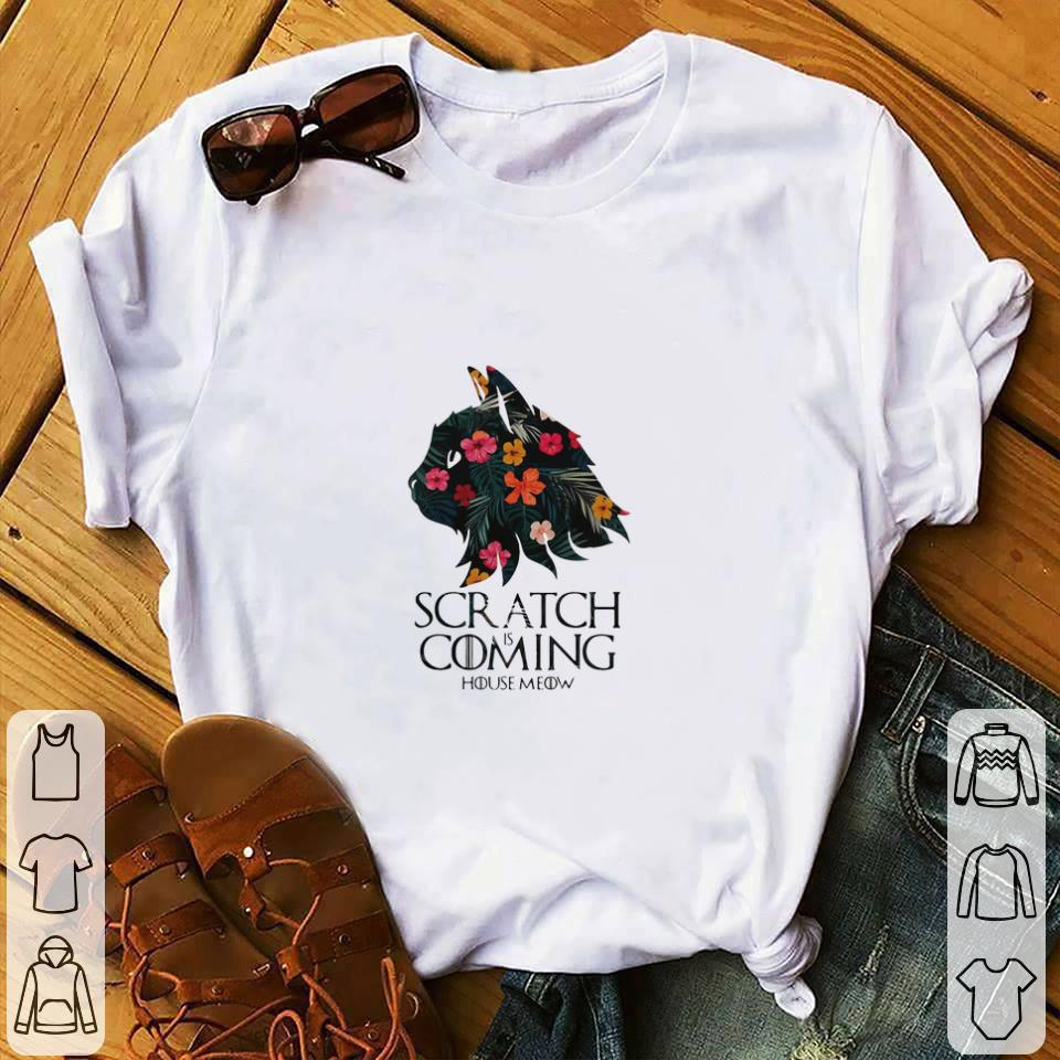Official Floral Scratch Is Coming House Meow Cat Drago Game Of Thrones Shirt 1 1.jpg