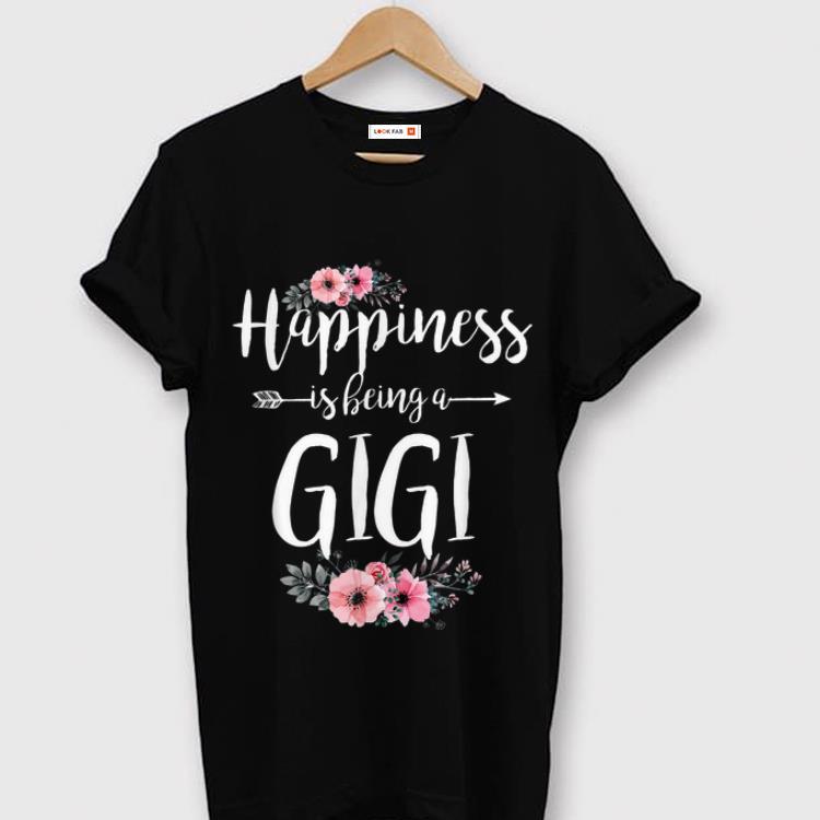 Original Happiness Is Being A Gigi Mother Day Flower Shirt 1 1.jpg