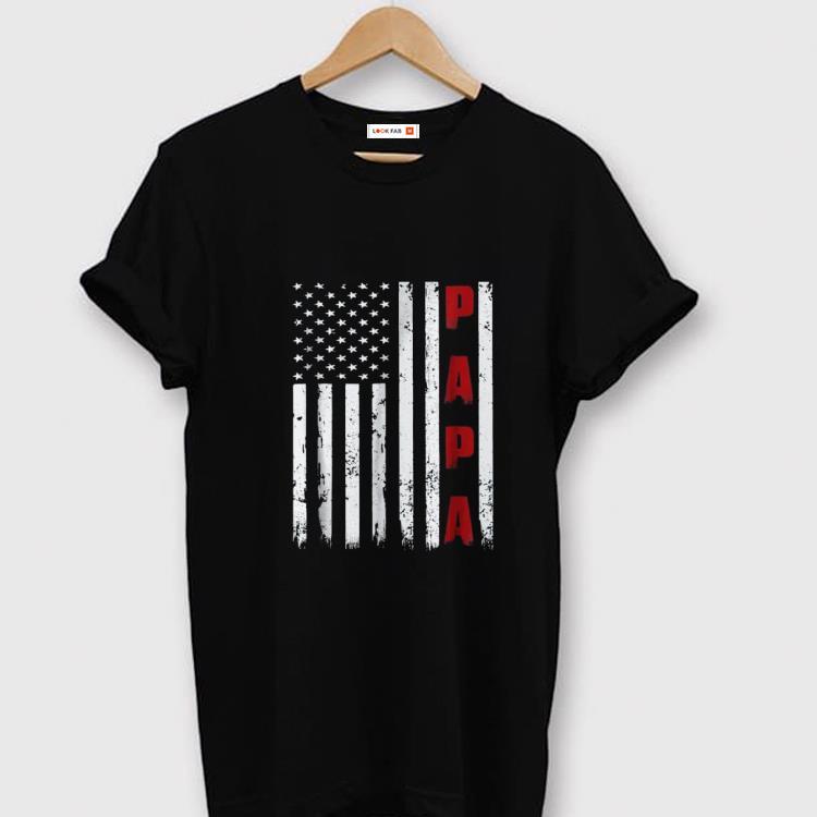 Original Proud Papa Fathers Day American Flag Shirt 1 1.jpg