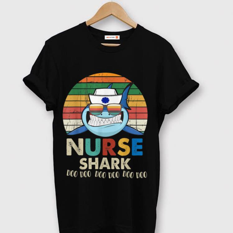 Original Retro Vintage Nurse Shark Doo Doo Doo shirt