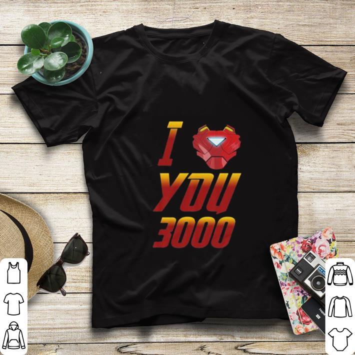 Premium I love you 3000 Avengers Endgame Iron Man Tony Stark shirt