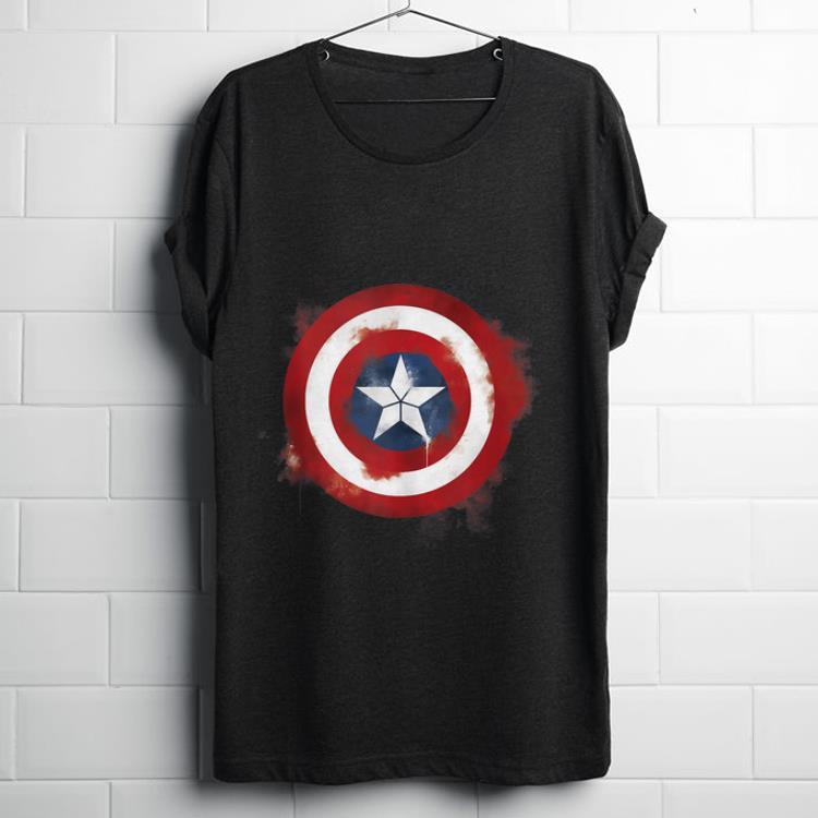 Premium Marvel Avengers Endgame Spray Paint Captain America Shirt 1 1.jpg