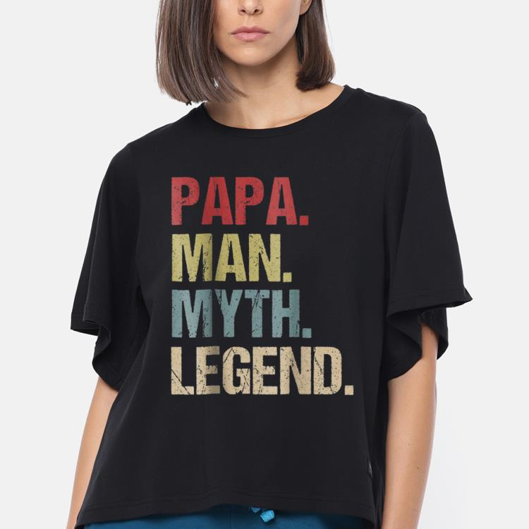 Premium Papa Man Myth Legend Father Day Shirt 3 1.jpg